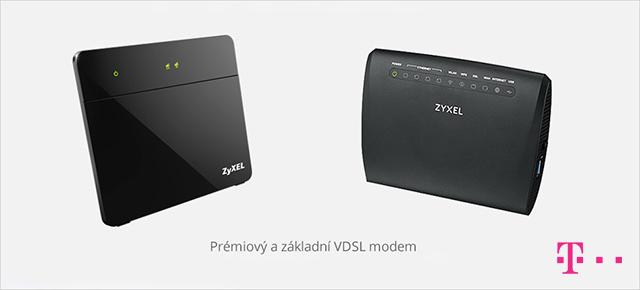 T-Mobile Pevný internet - základní a prémiový Wi-Fi modem